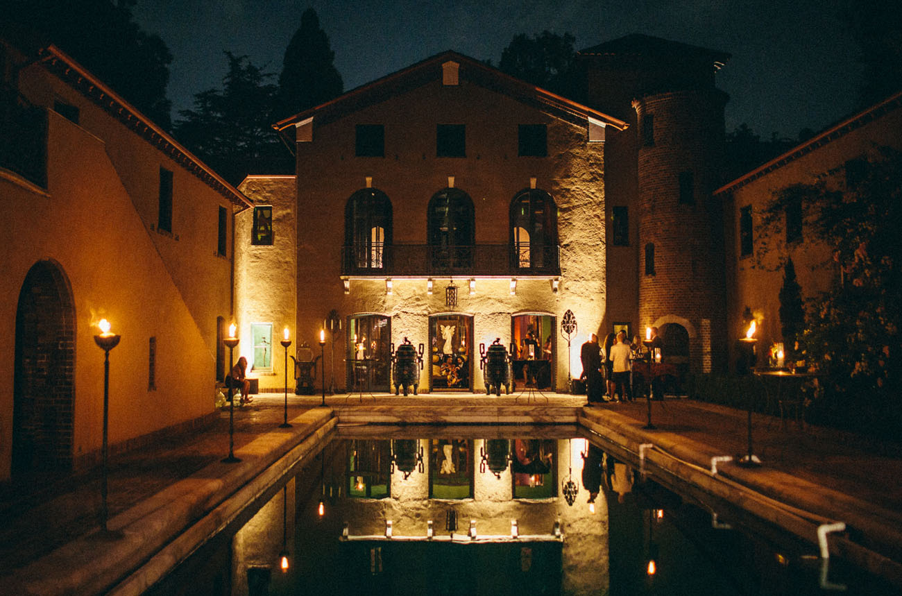 Romantic Mansion Wedding