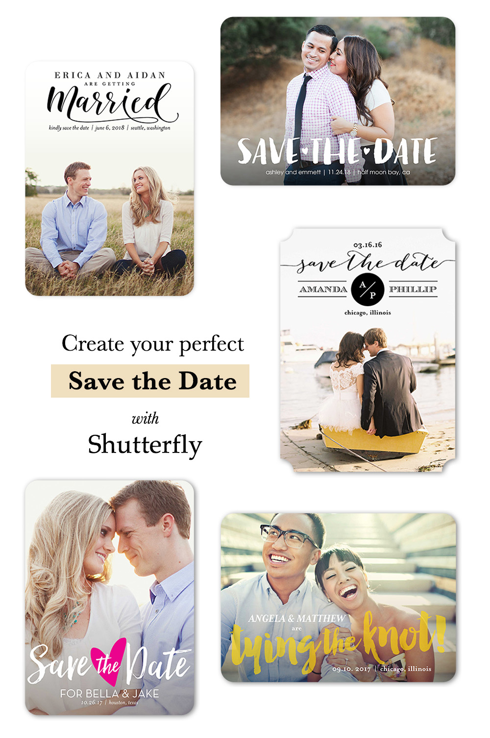 Shutterfly Save the Dates