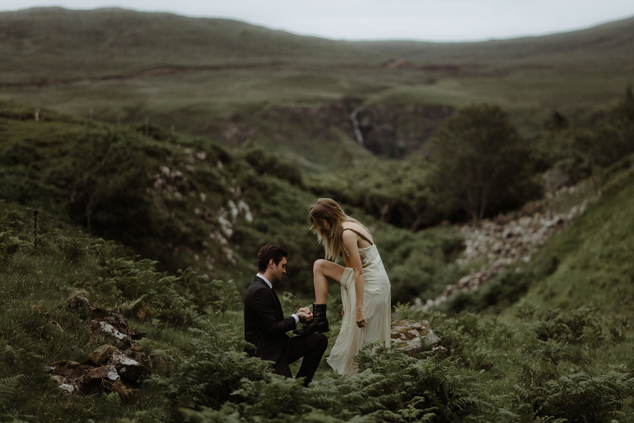 scotland elopement photos