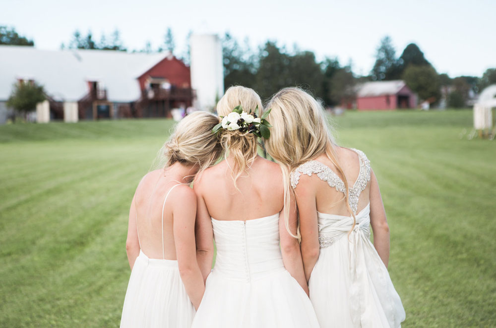 Triple Sister New York Wedding