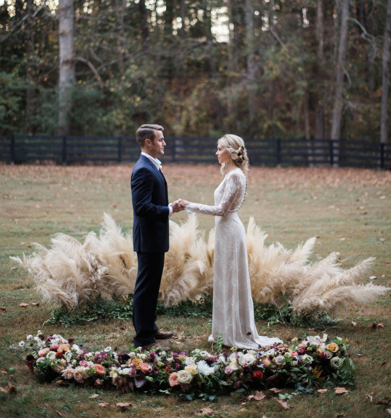 Cozy Wedding in the Woods Inspiration from the Vero Workshop