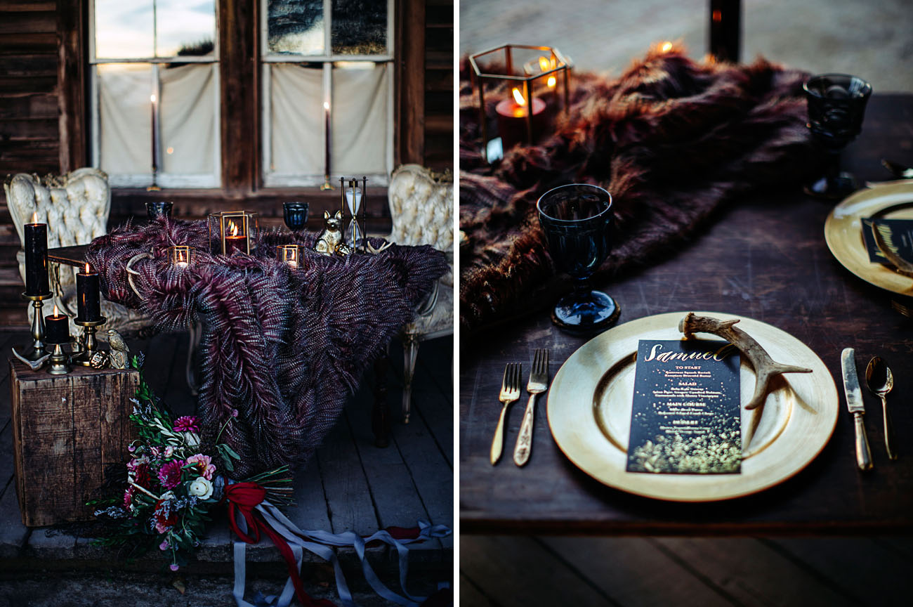 Vivid Winter Elopement Inspiration