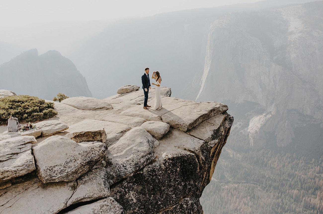 Green Wedding Shoes Yosemite