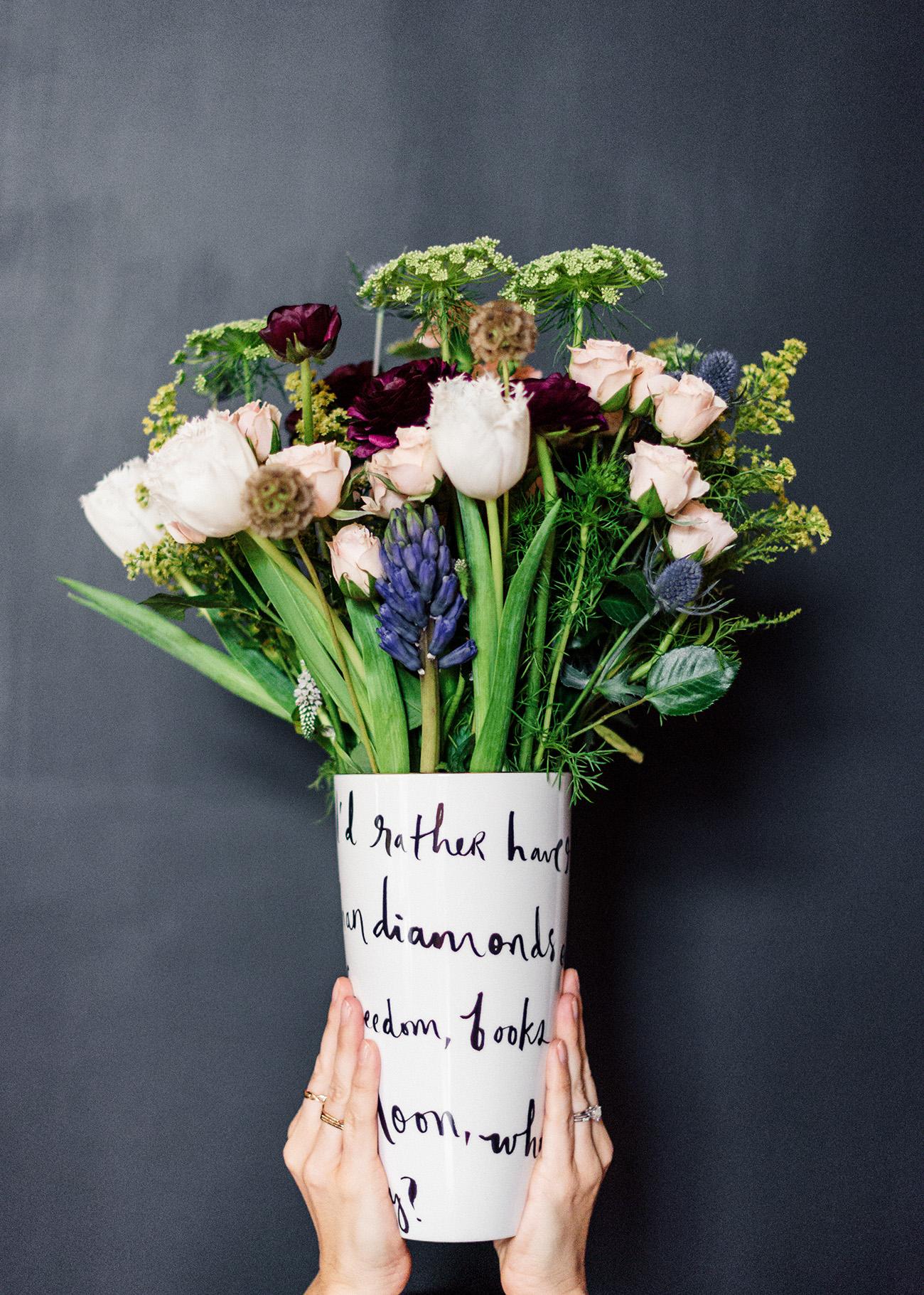Kate Spade vase from Bed Bath & Beyond