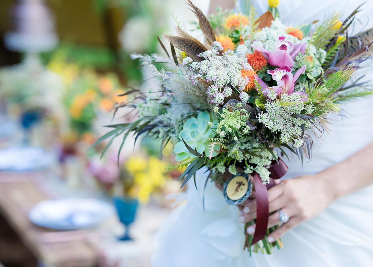 Wedding Inspiration for Your Inner Disney Princess - Green Wedding Shoes