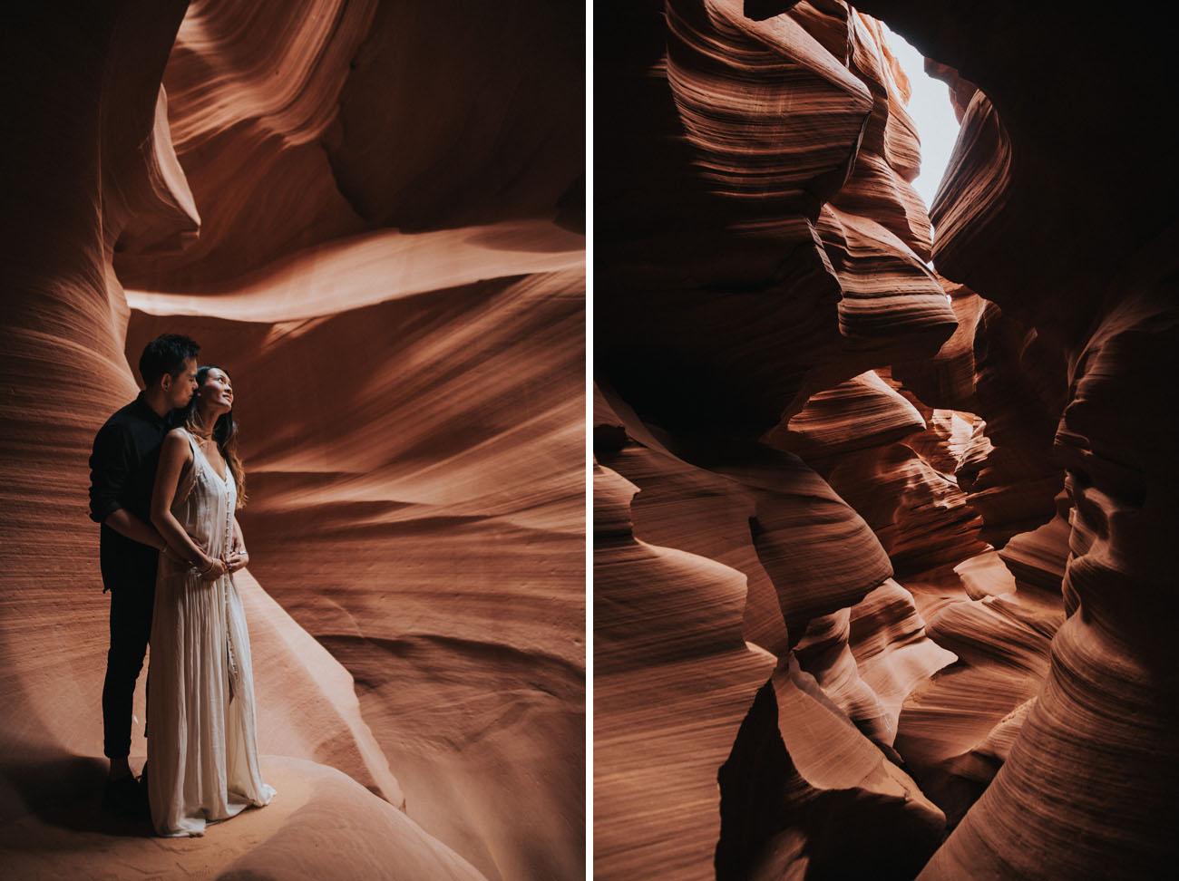 Antelope Canyon Engagement