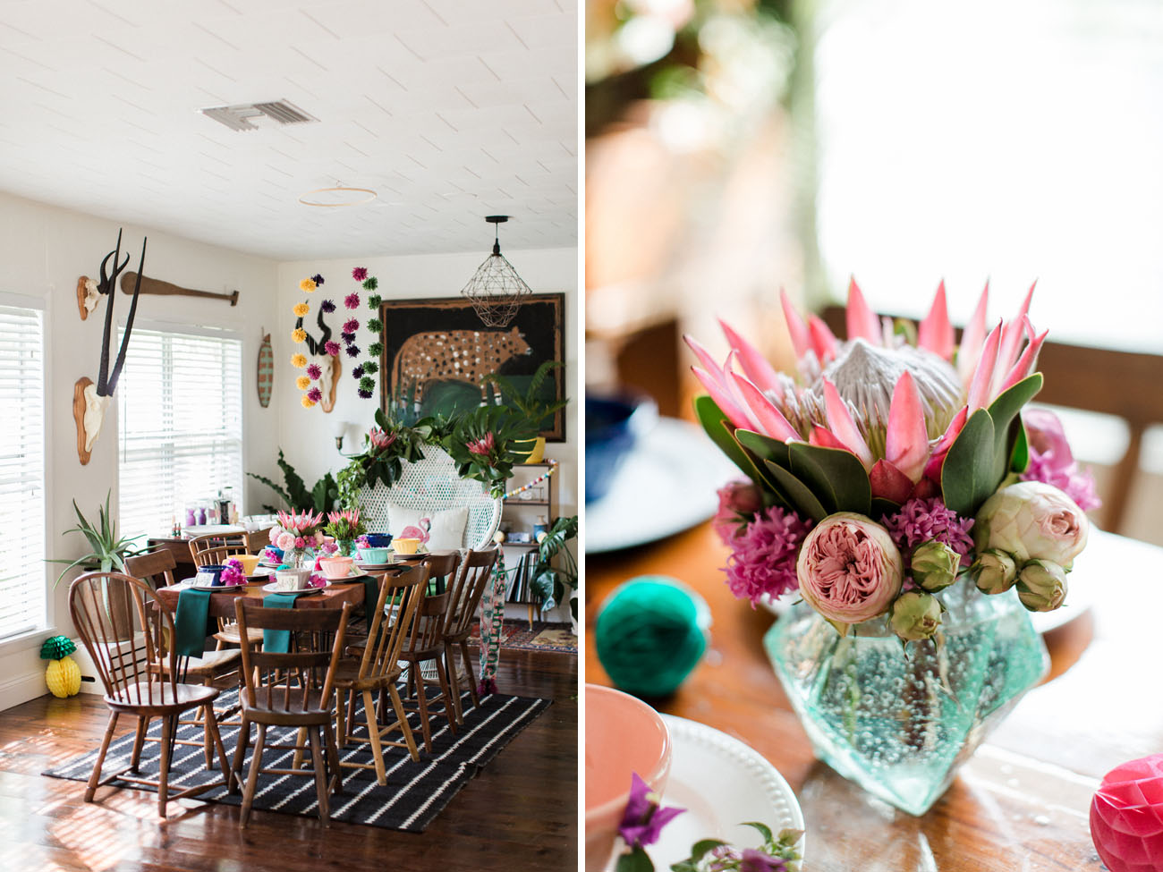 Tropical Florida Bridal Shower
