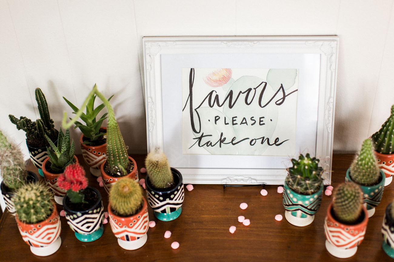 Tropical-Inspired Bridal Shower with a Donut Wall! - Green Wedding Shoes