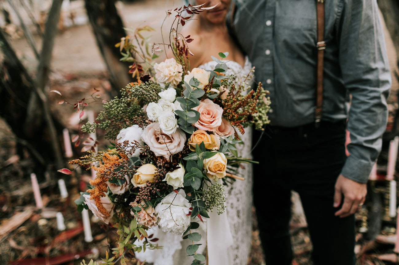 wild rustic bouquet