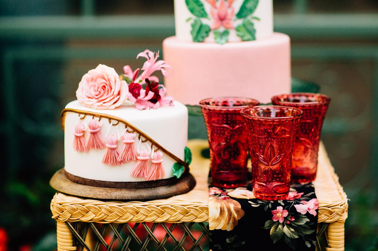 tassel cake
