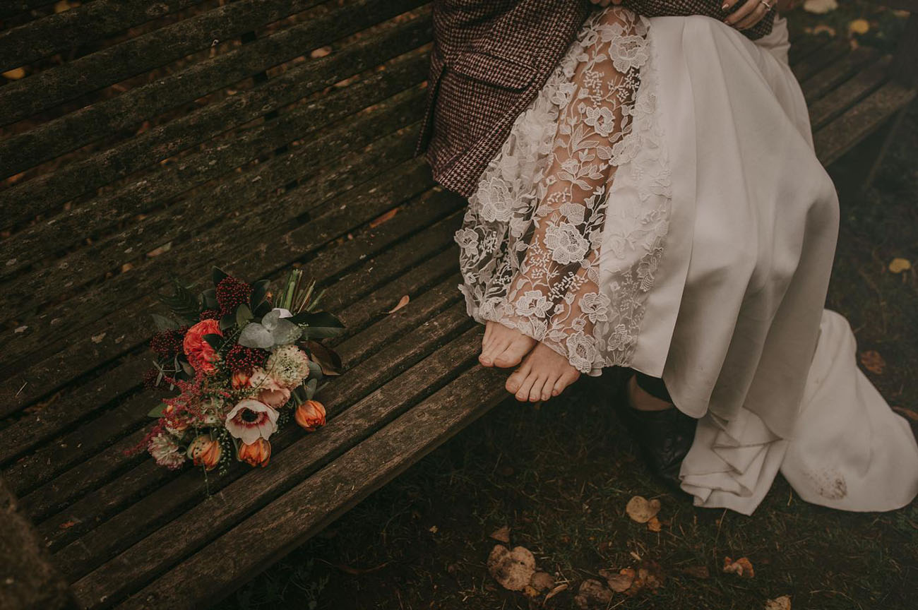 lace sheer dress