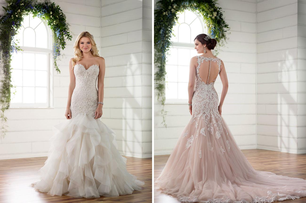 Romantic Wedding Dresses 6 Unique Essense of Australia