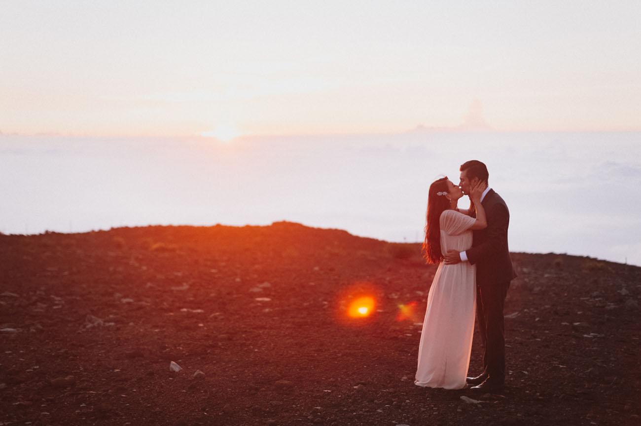 Haleakala Crater Elopement