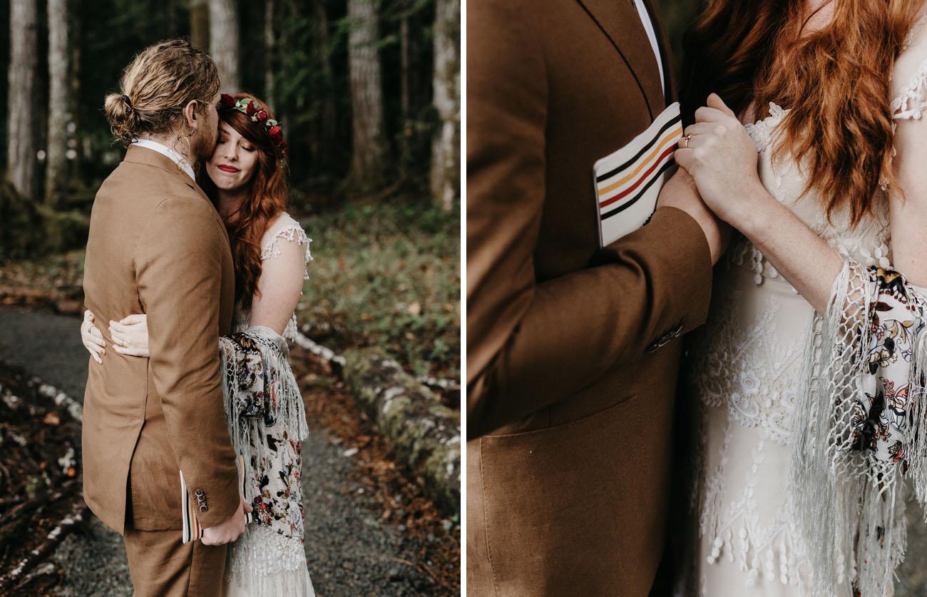 Washington Campsite Wedding