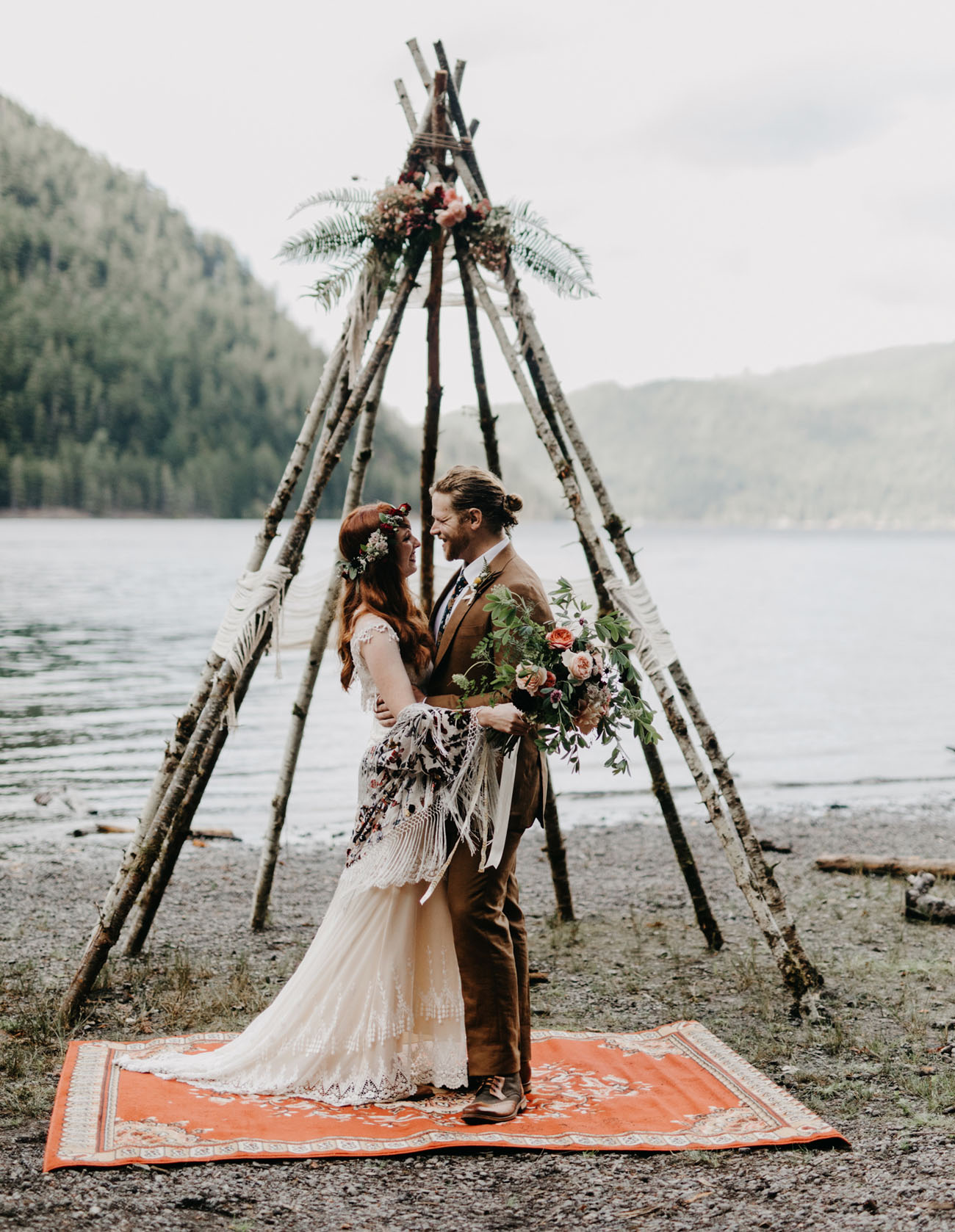Washington Campsite Wedding