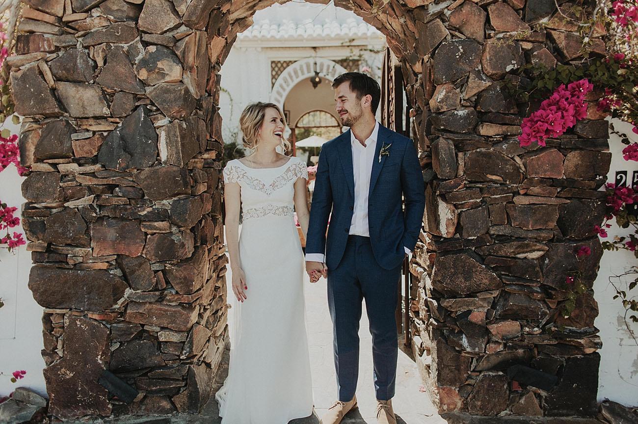 Buck Mason Palm Springs Wedding