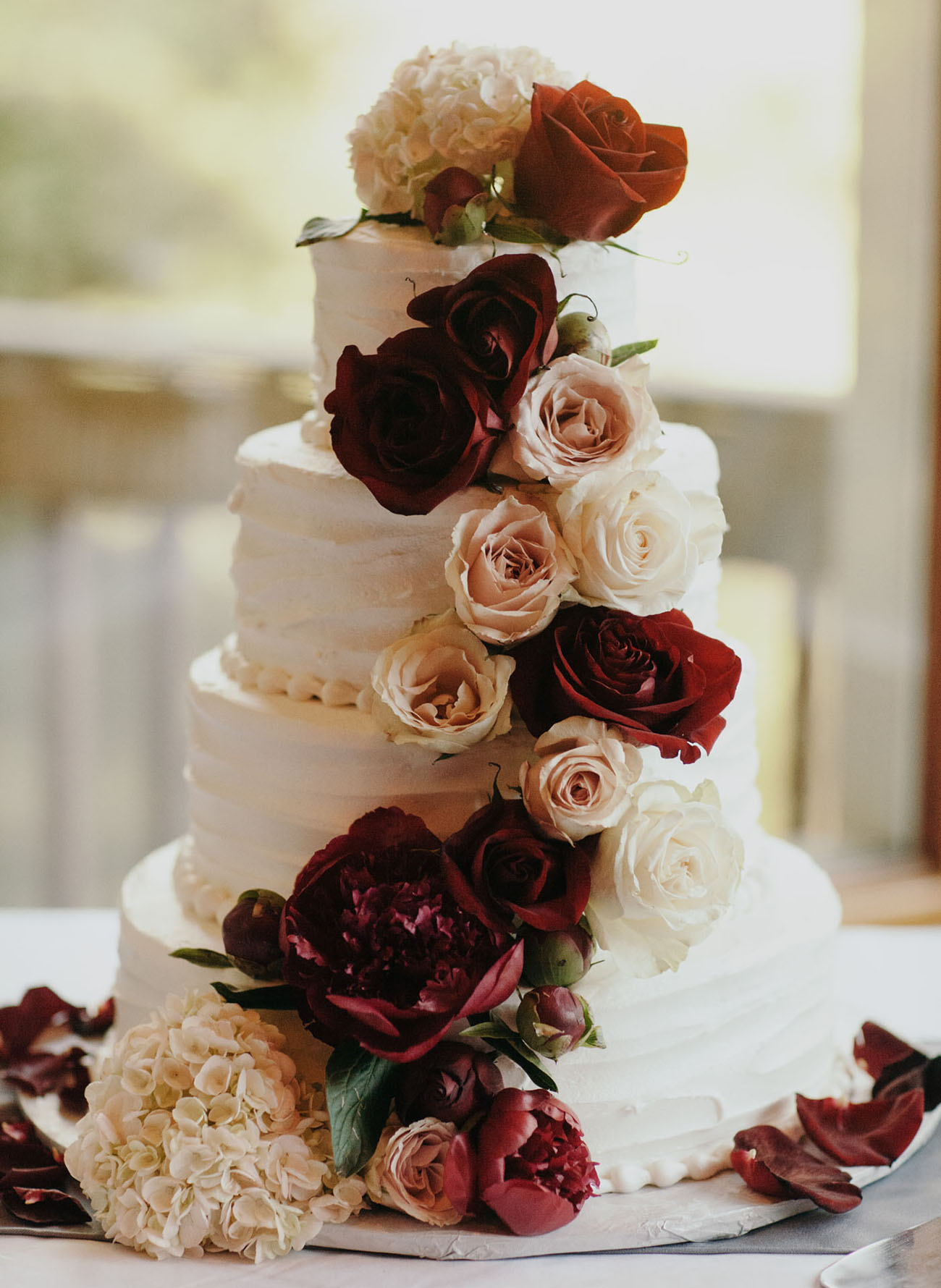 navy burgundy and gold wedding cake burgundy rustic chic wedding green wedding 17783
