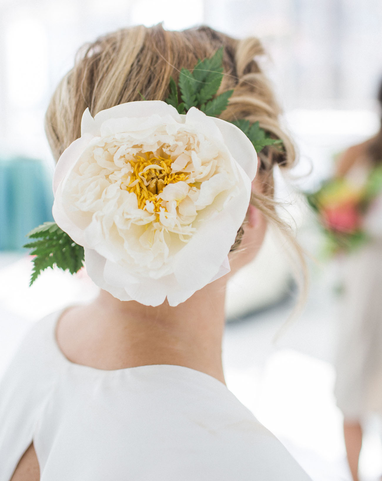 flower hair piece