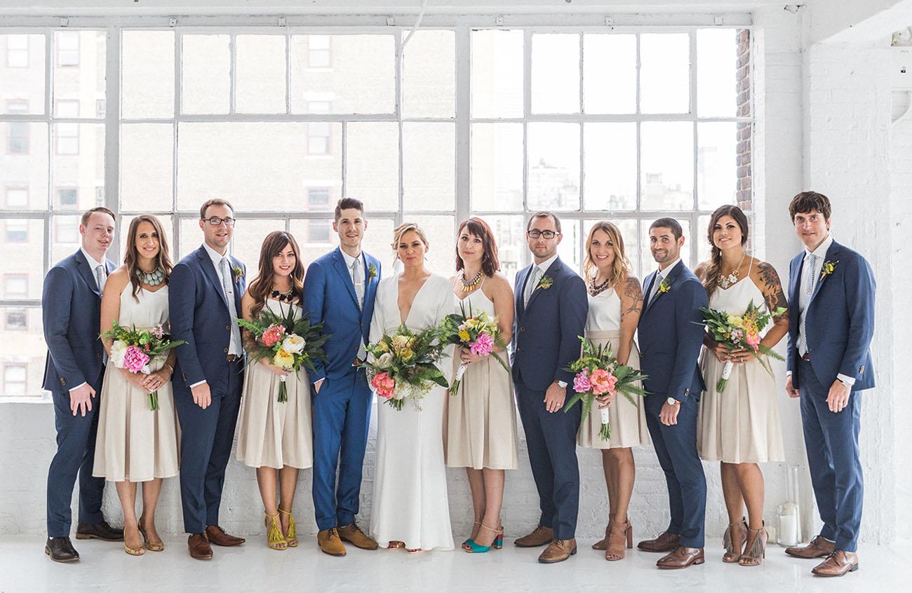 NYC Rooftop Wedding