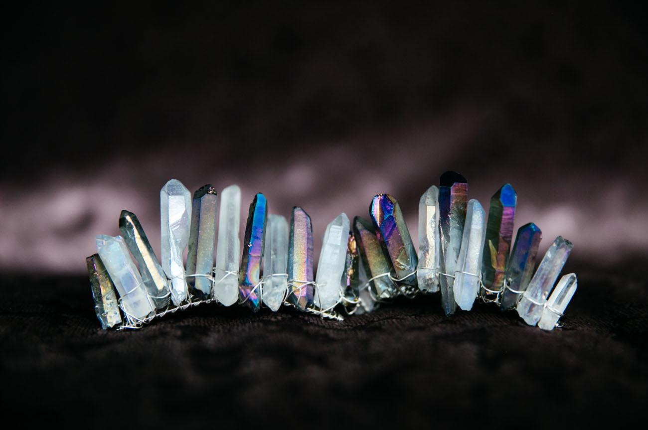 quartz crown