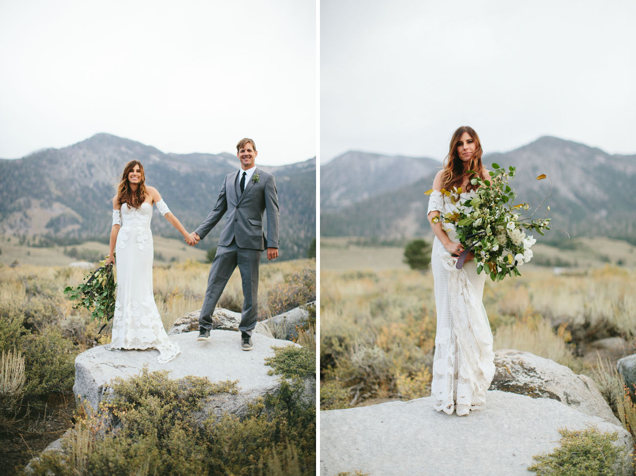 Nature Filled Mammoth Mountain Wedding Part 2 Green