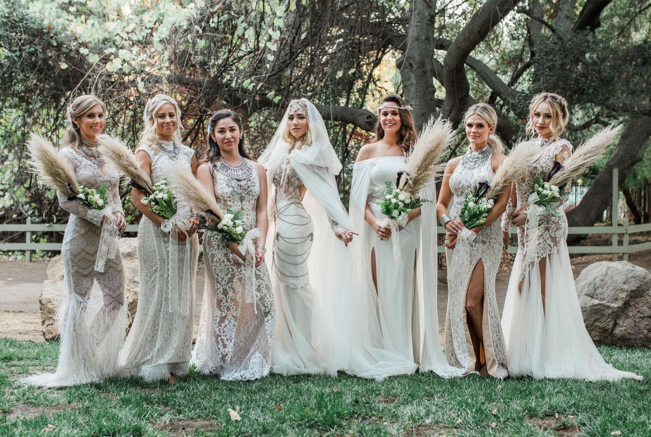 gypsy bridesmaids