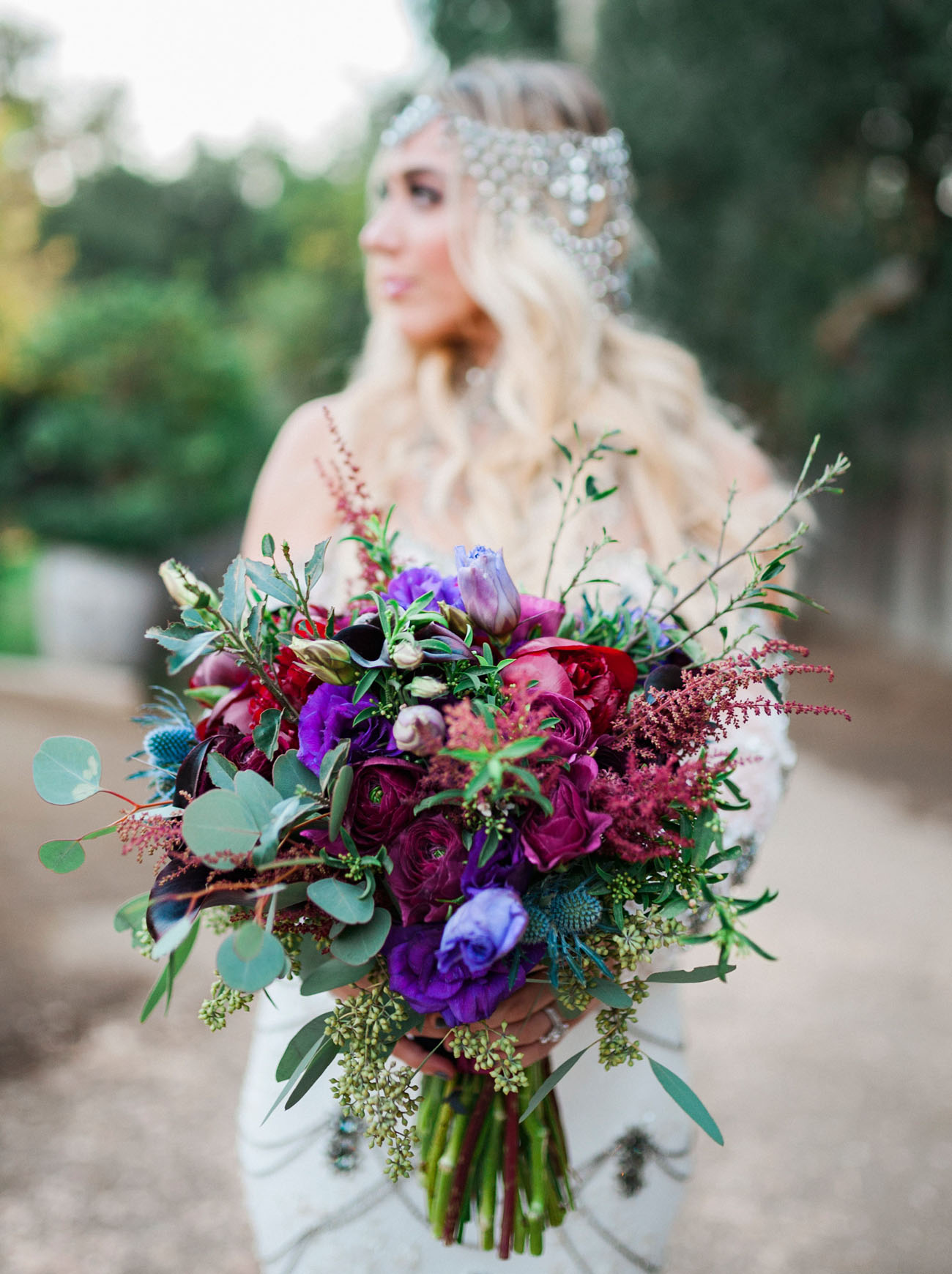 gypsy inspired bouquet