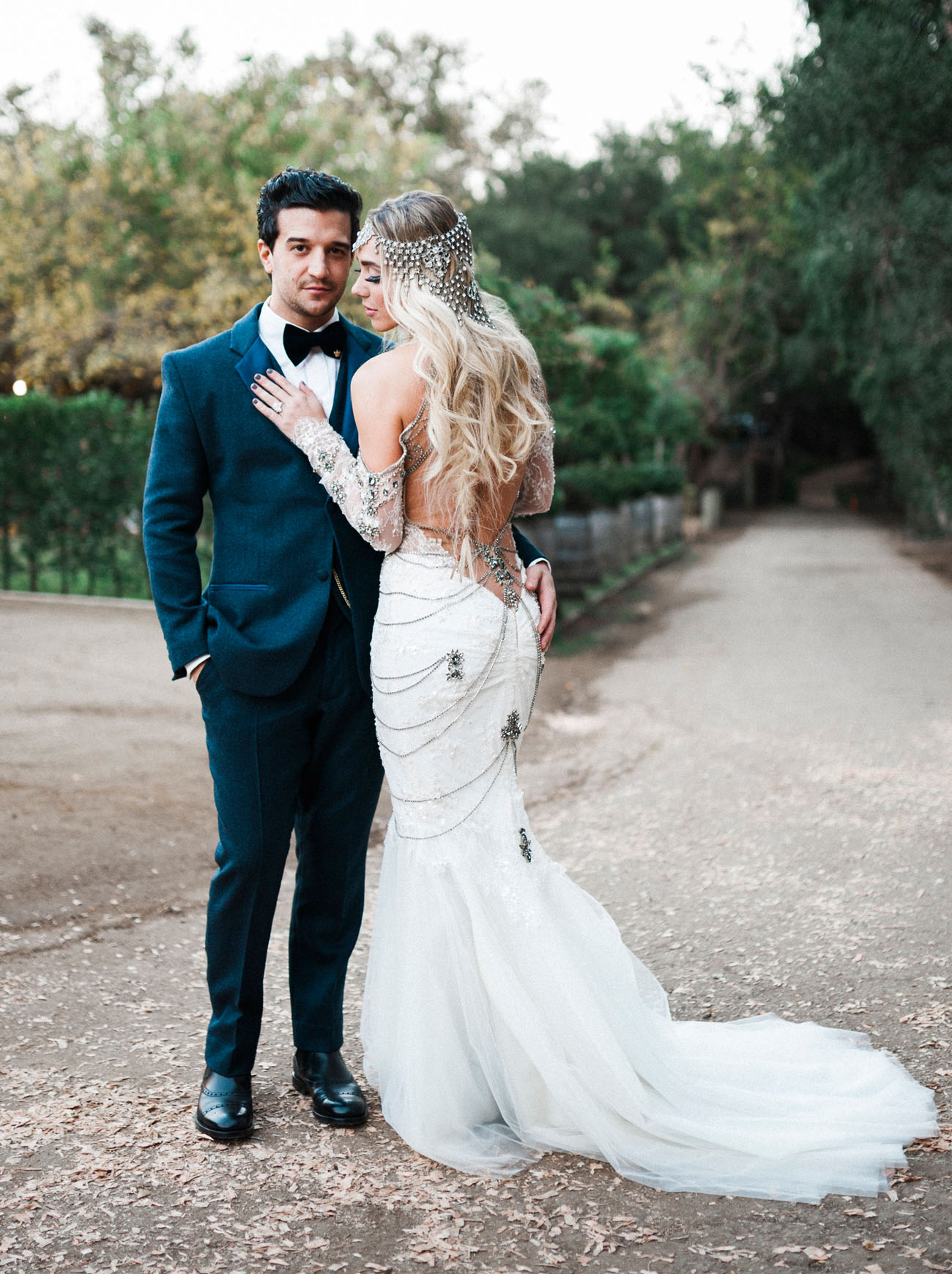 DWTS Mark Ballas BC Jeans Bold Bohemian Inspired Wedding