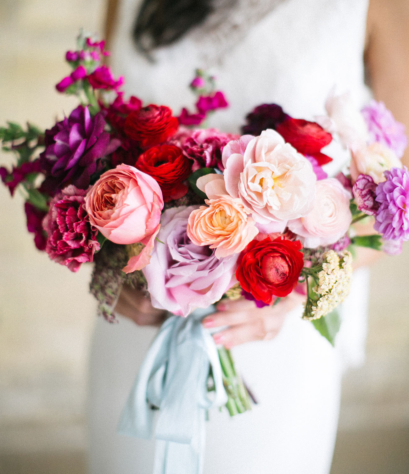 colorful pink bouquet