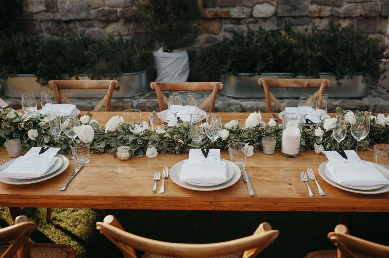 Napa Farm Chic Wedding
