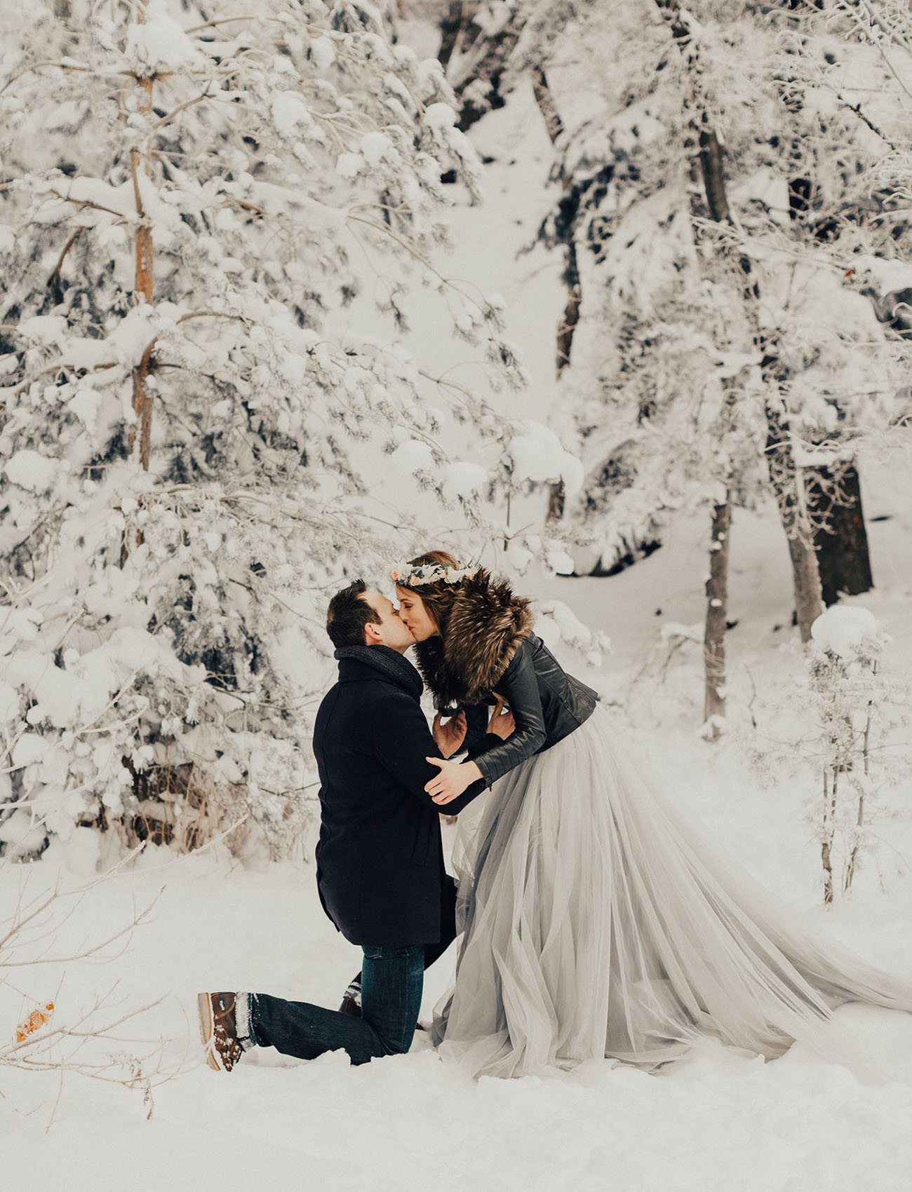 This Snowy Proposal Will Warm Your Heart