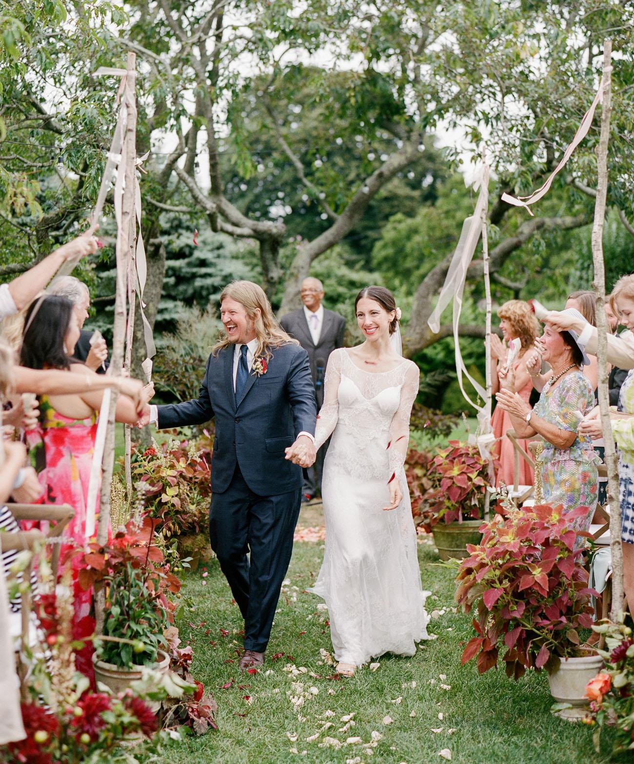 Seaside Garden Wedding
