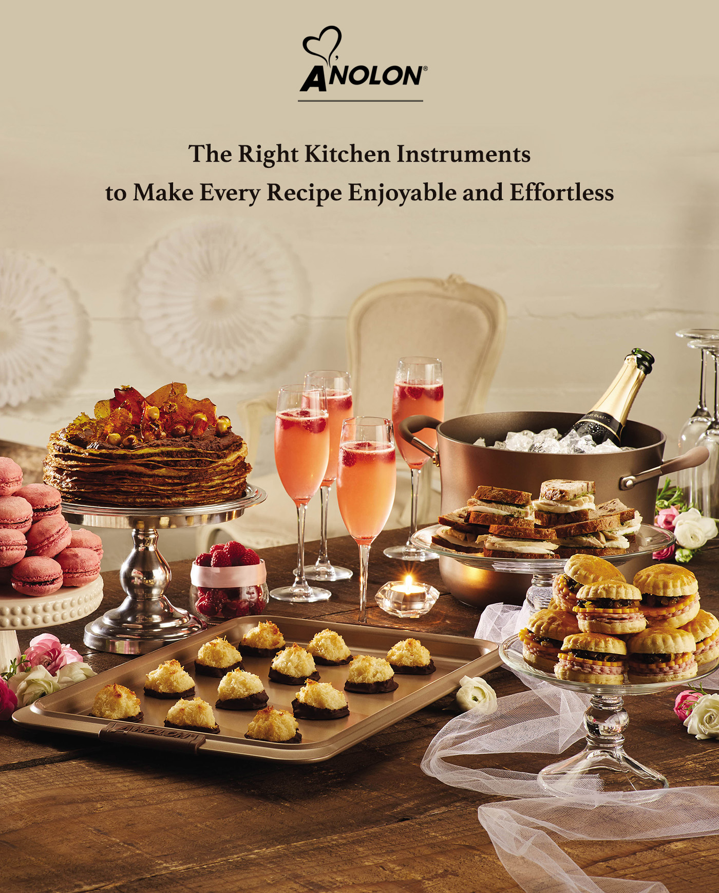 The Right Kitchen Instruments to Make Every Recipe Enjoyable with Anolon