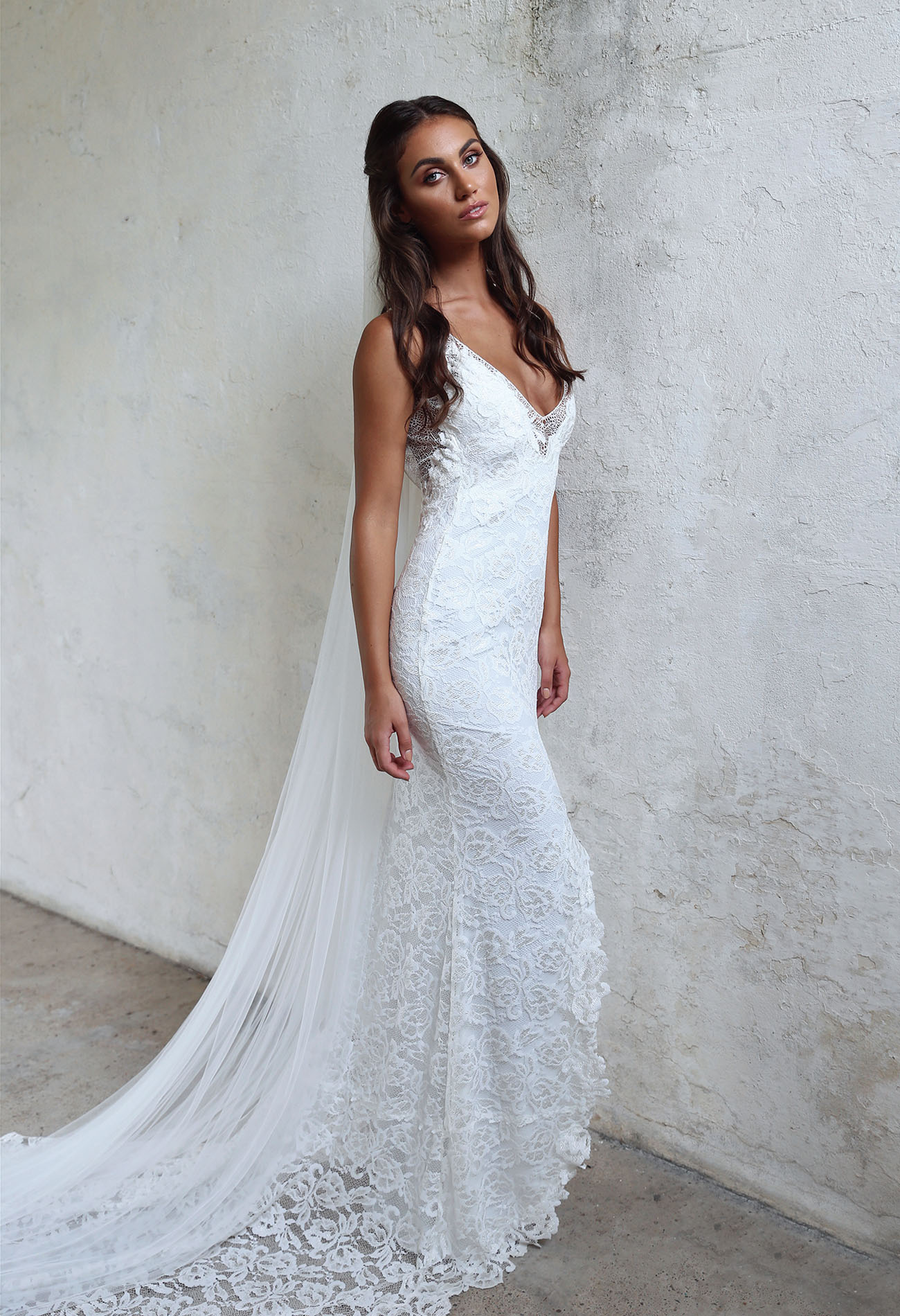 Lace Simple Wedding Dress