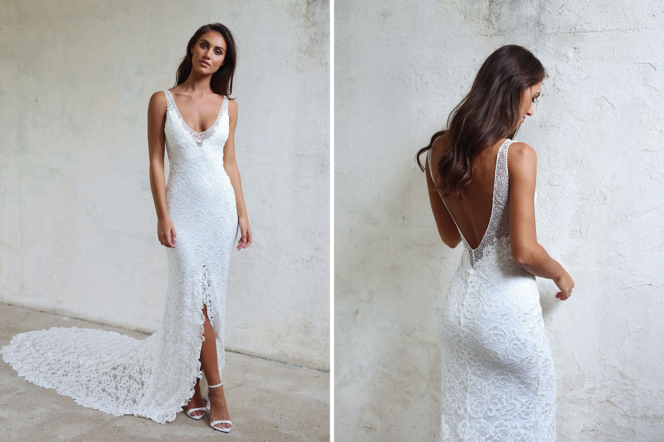 The Brand New Gia Gown From Grace Loves Lace