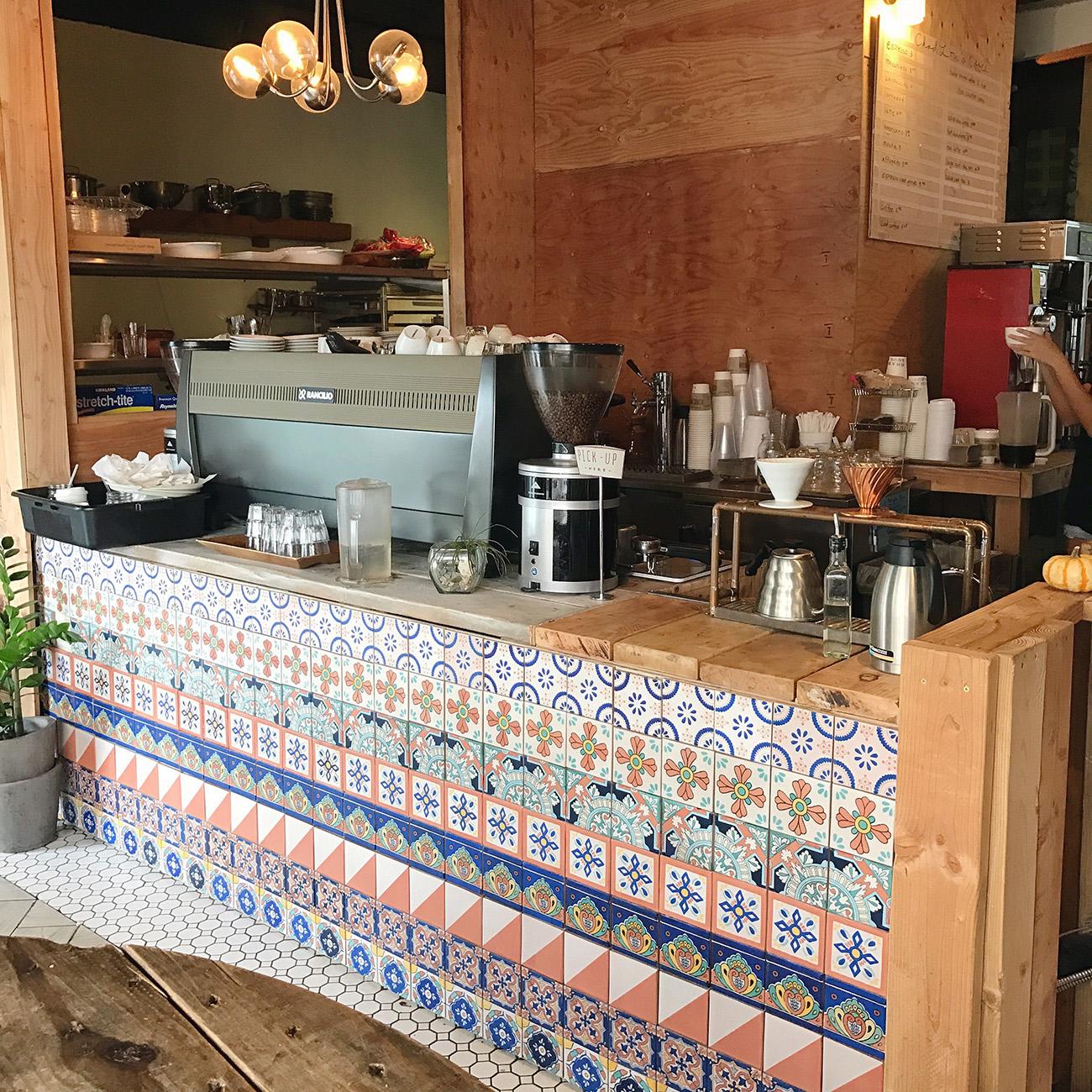 Oahu coffeeshop
