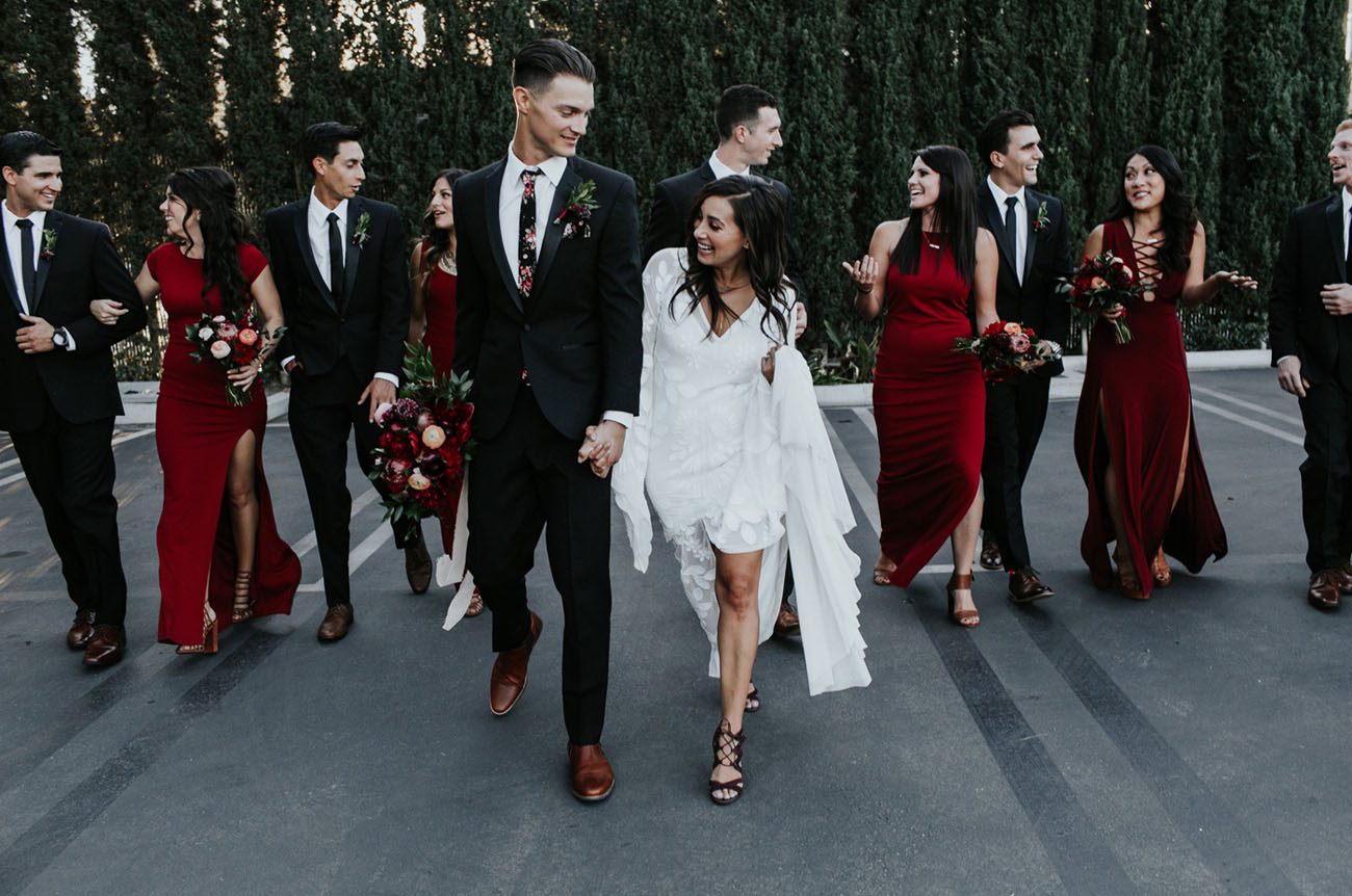 Boho Chic California Wedding