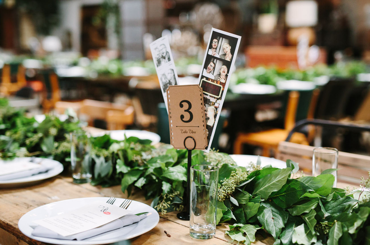 photobooth table numbers