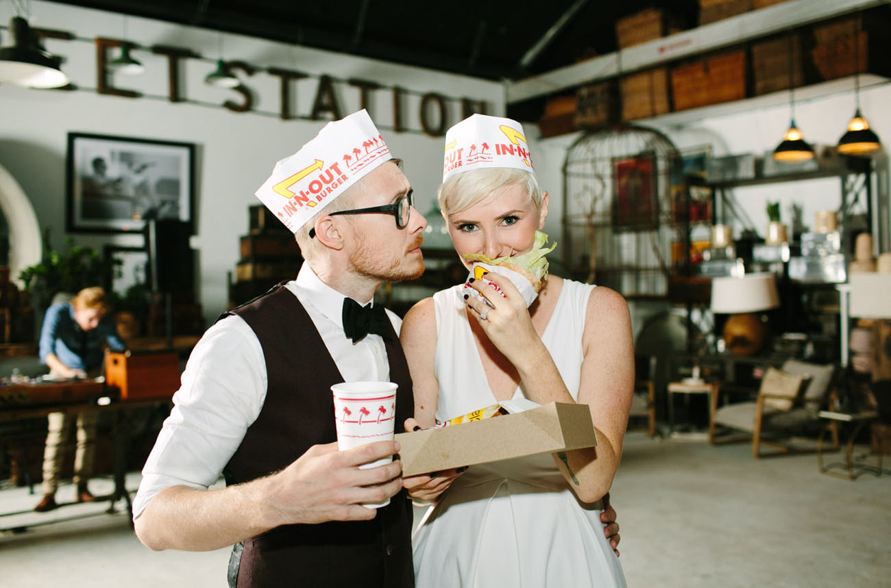in n out wedding food