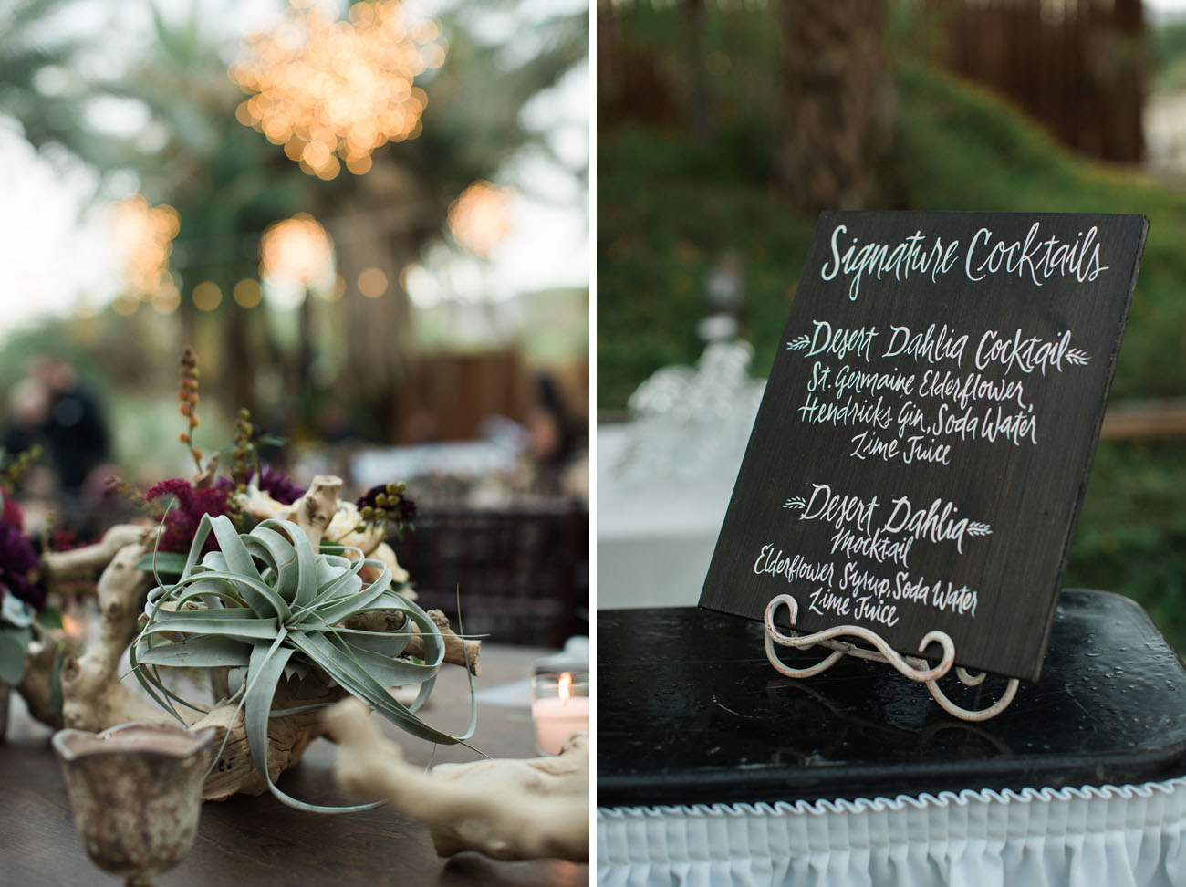 Chic Desert Wedding