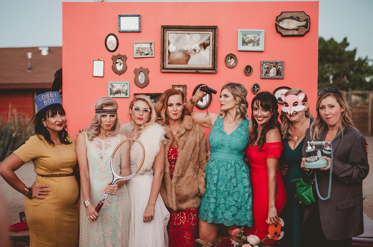 wes anderson bridesmaids