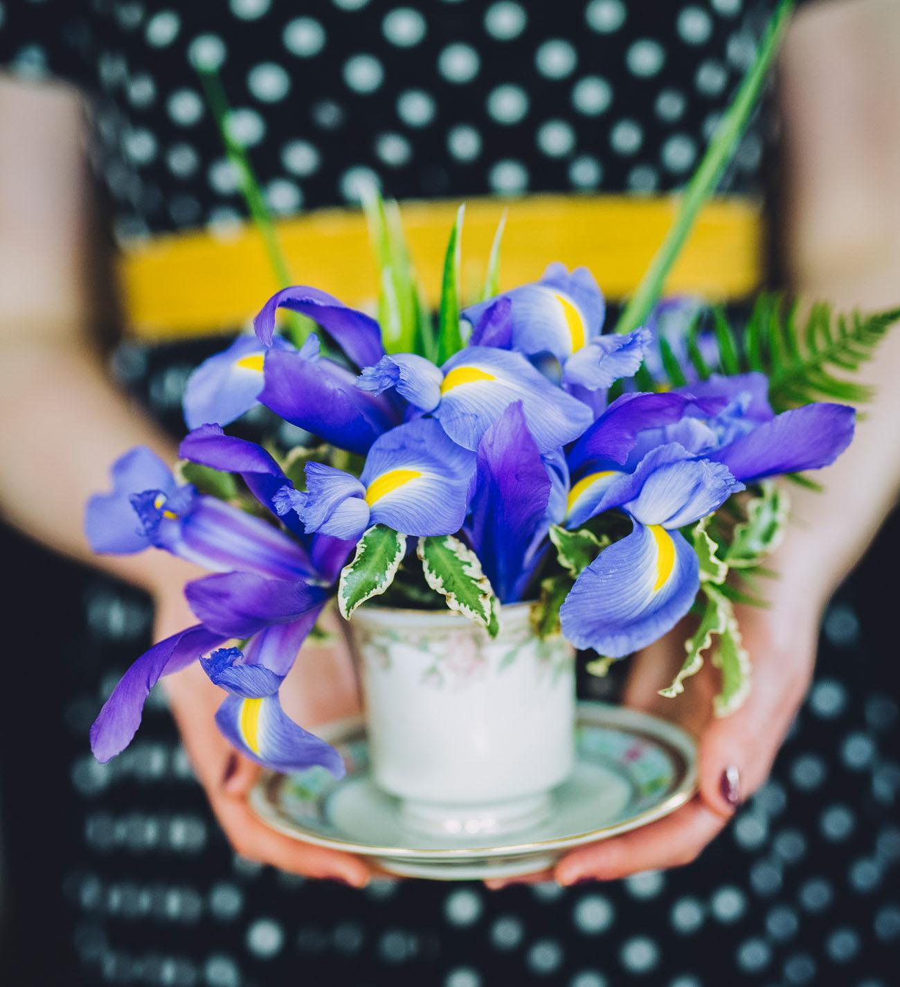 Wedding Flowers In February: A Year Of Flowers: Iris