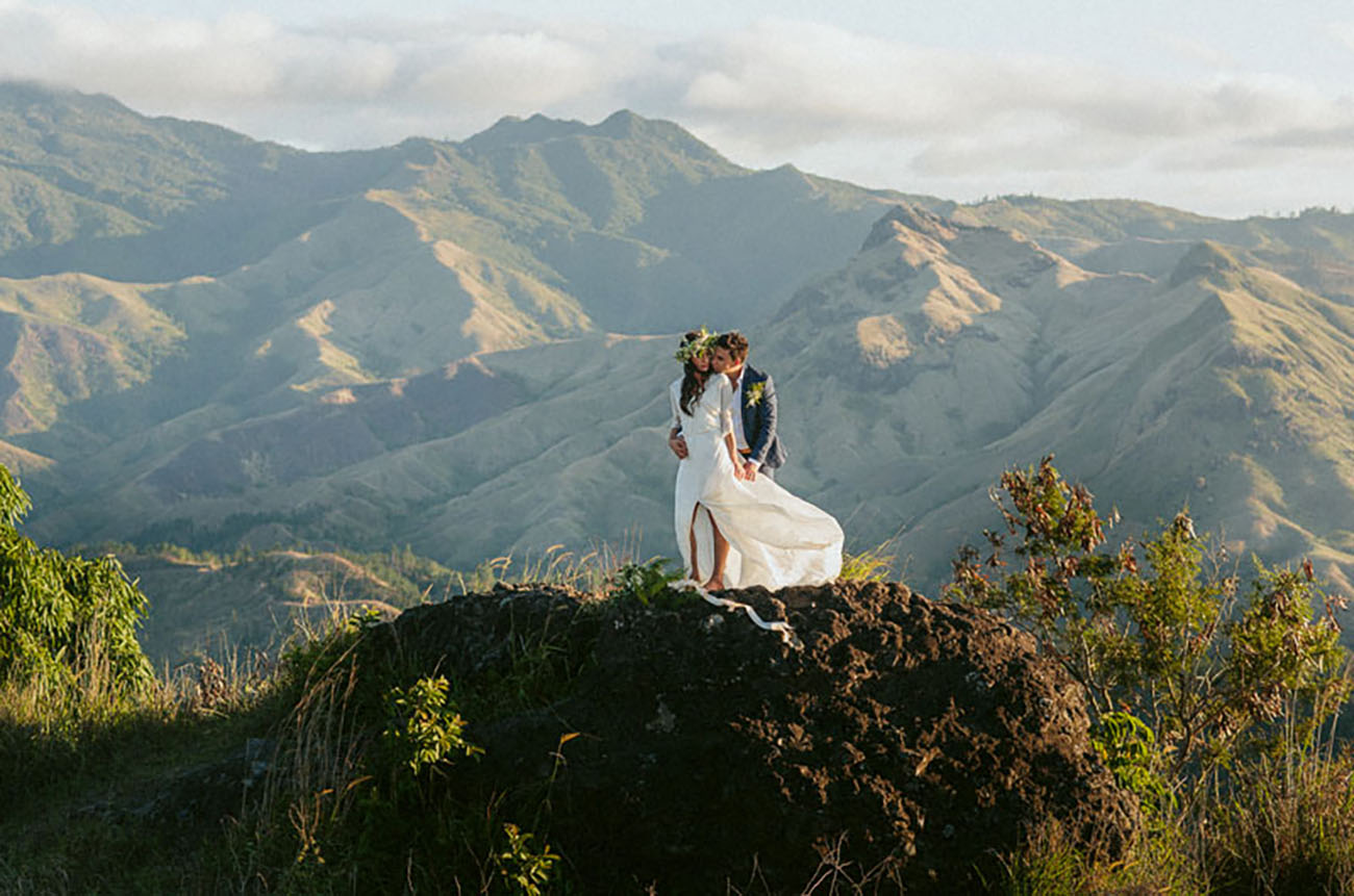 The Highlands of Fiji are an alternative to the beach weddings in this slice of paradise