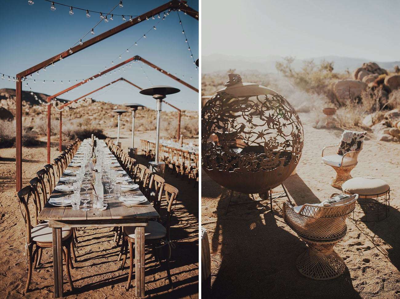 desert ruin wedding