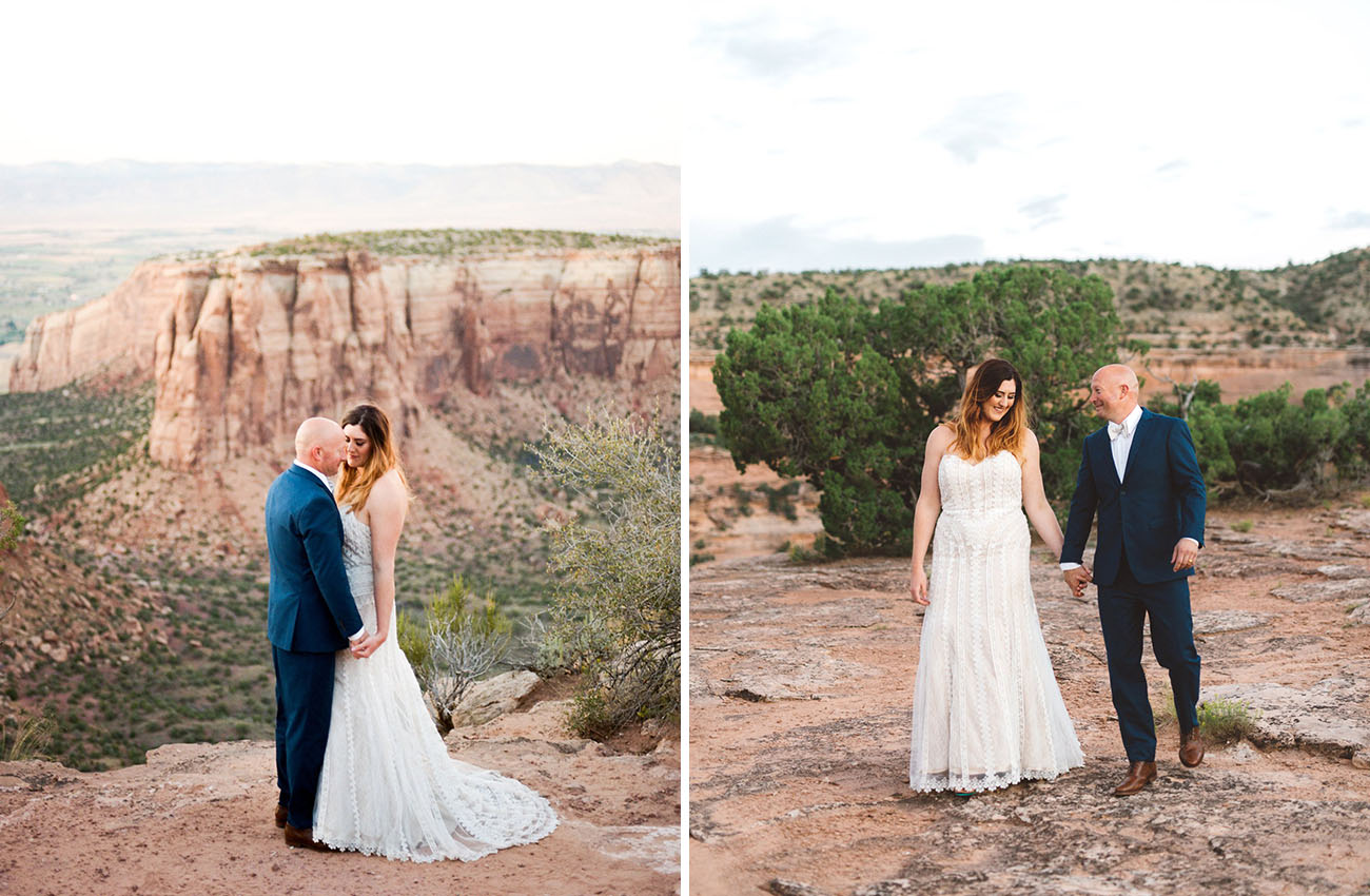 Offbeat Colorado Wedding