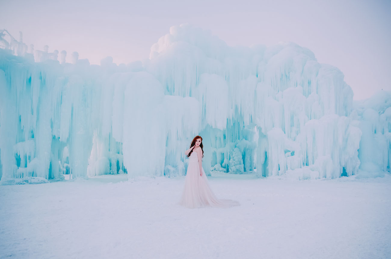 Ice Castles Wedding Inspiration