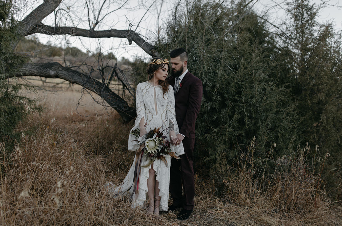An Intimate Elopement Among the Ruins