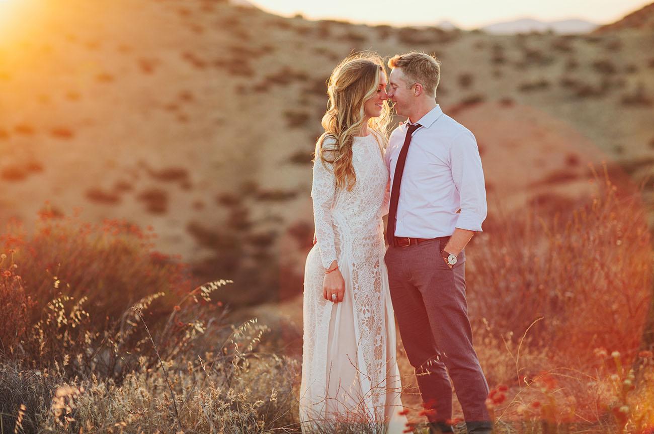 Earthy Desert Wedding