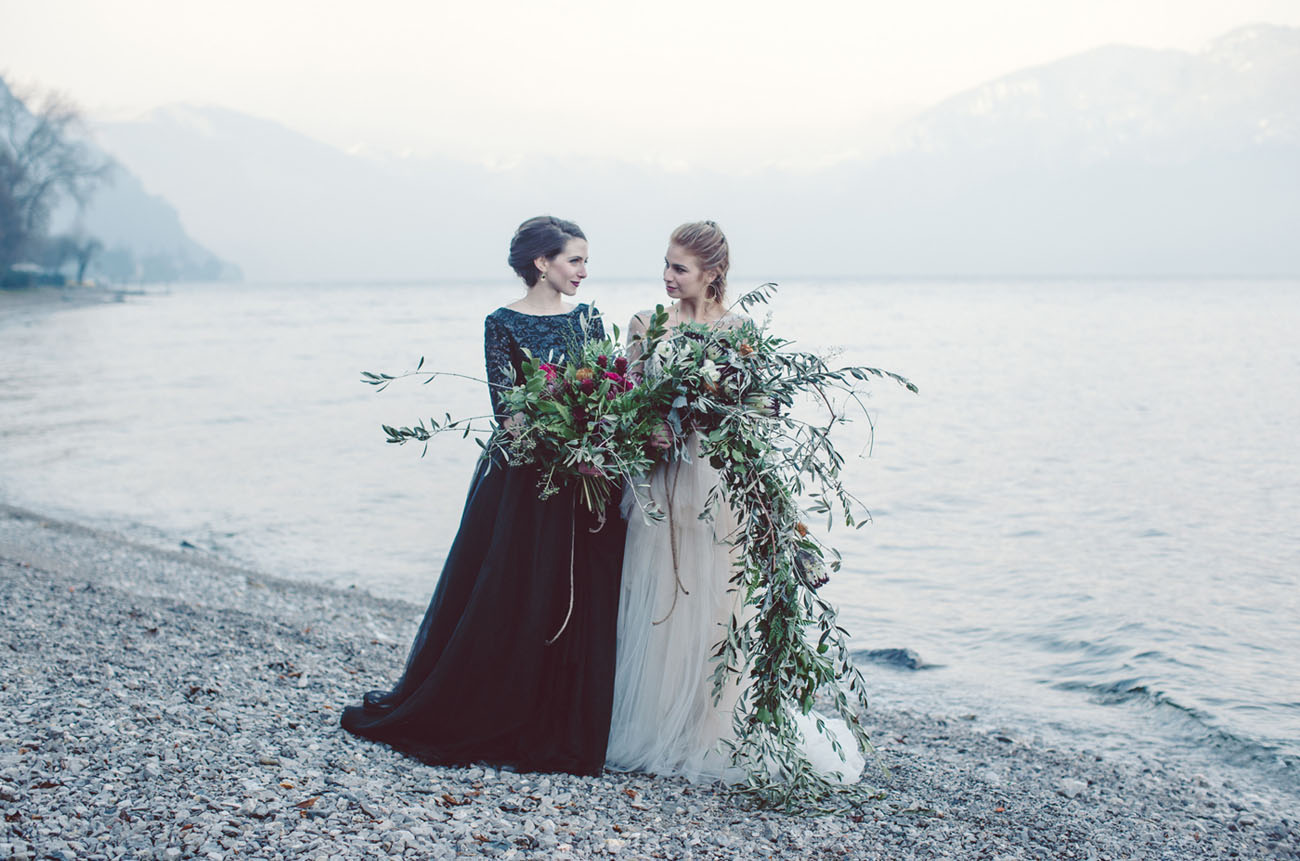 Brides' Dream Elopement at Lake Como, Italy