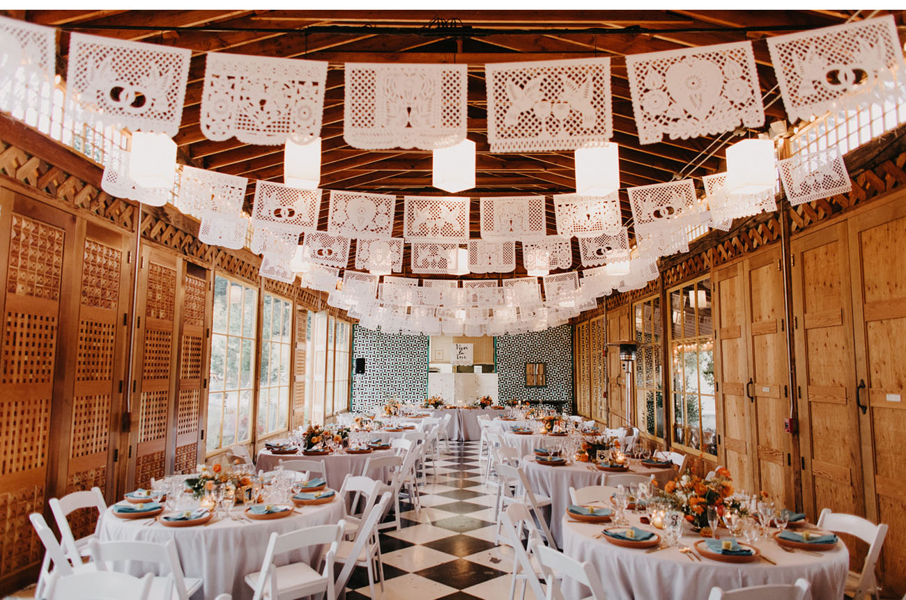 paper picado decor